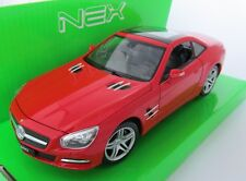 Mercedes-Benz SL 500  / Modellauto / Nex Models / Rot /1:24 / Welly / Neu/OVP