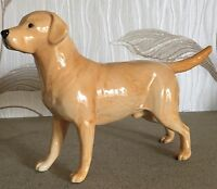 BESWICK DOG  LABRADOR SOLOMON OF WENDOVER MODEL No. 1548 GOLDEN GLOSS  PERFECT