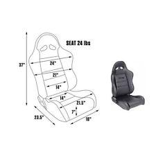SCAT by Procar 80-1610-51R Seat Passenger Side - Pro Sportsman™ Series 1610