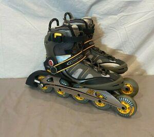 K2 MOD GX 5-Wheel Inline Skates w/Aluminum Chassis US Men's 10 EU 43.5 GREAT