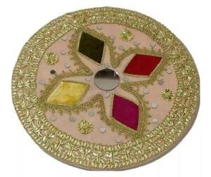 Mehndi thaal in light pink