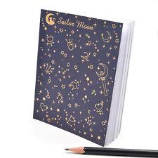 Anime Sailor Moon Notebook Notizbuch 80 Blätter Kinder Geschenk für Studenten