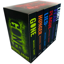 Michael Grant Gone Series 6 Books Collection Set Gone, Hunger ,Lies, Plague NEW