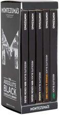 Montezuma's, Absolute Black Bar Library, 100% Cocoa Dark Chocolate Flavours 450g