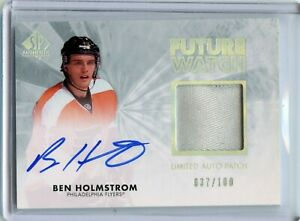 2011-12 SP Authentic Limited Patches #278 Ben Holmstrom AU 37/100