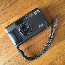Contax T2 35mm Point & Shoot Film Camera - Black - Zeiss Sonnar 38mm F2.8