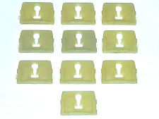 75-79 NOS Ford Lincoln Mercury Body Side Belt Molding Moulding Trim Clips 10pc U