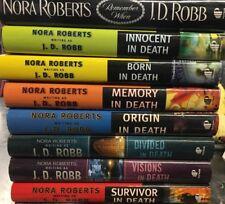 Lot Of 8 J.D. Robb Book Club Editiom Hardcovers
