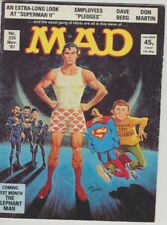 **MAD MAGAZINE** UK Number 235 (November 1981) - SUPERMAN II Satire, Spy Vs Spy