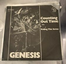 Genesis COUNTING OUT TIME 7inch Germany Press 1975