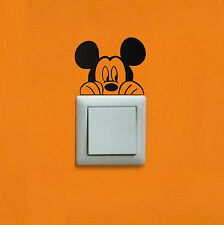 PEGATINA - STICKER - Mickey - Light switch - VINILO- WALL DECAL- VINYL-Aufkleber