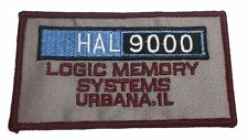 "20001 A Space Odyssey Hal 9000 Logic 4"" Wide Embroidered Iron on Patch"
