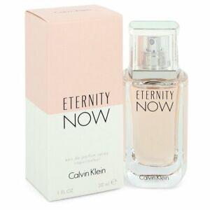Eternity Now by Calvin Klein 1 oz / 30 ml Eau De Parfum Spray, NEW, SEALED