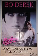 """Bolero (1984) Bo Derek home video poster (28""""x40"""") folded"""