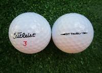 50 Titleist DT TruSoft Golfbälle  AAAA - AAA
