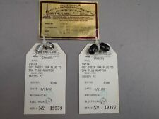 SMA //SMA DC-18GHz M Astrolab 29519 ; 90-degree Swept Right-Angle RF Adapter M