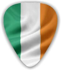 10 Ireland ~ Irish Flag ~ Guitar Picks -  Printed Both Sides