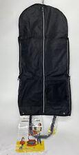 Biaggi Hangeroo ZipSak 2-in-1 Garment Bag & Tote...NWT By Lorie Grenier - Black