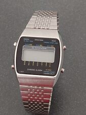 mondia zenith lcd vintage digital watch orologio vintage '70 fondo di magazzino
