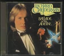 RICHARD CLAYDERMAN Ballade Pour Adeline 1986 CD BR MUSIC SWEDEN BELGIUM HOLLAND