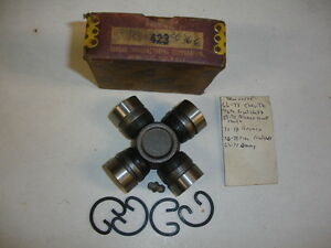 Torque Manufacturing Co 423 Ujoint TRW 20306 Percision 1524 AEC 278 Alloy 1002