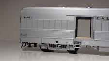 "O-SCALE ATLAS #3007001-1 California Zephyr"" CB&Q ""Silver Coyote"". BAGGAGE 3 RAIL"