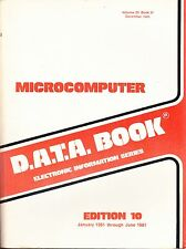D.A.T.ABOOK: MICROCOMPUTER - EDITION 10 - 1981
