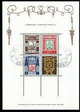Estland Block 1 o Wappen (133)