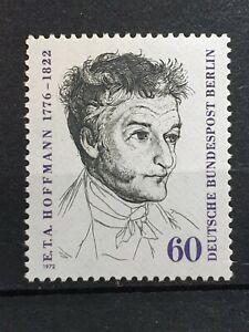 Berlin Germany - 1972 - 150th Death Anniv E.T.A. Hoffmann- 1 stamp set  - MNH