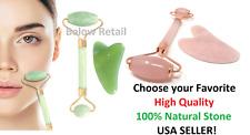 Top Quality Roller Face Massager Facial SPA Jade Healing or Gua Sha Tool Choose