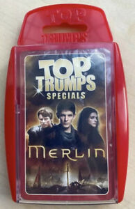 Top Trumps BBC Merlin - Winning Moves - Sealed Card Game Discontinued