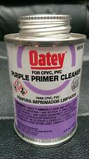 OATEY 30780 PURPLE PRIMER CLEANER 4OZ FOR PVC AND CPVC PIPE AND FITTINGS