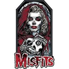 OFFICIAL LICENSED - MISFITS - UNMASKED IRON / SEW-ON PATCH ROCK PUNK DANZIG