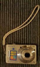 Sony Cyber-shot DSC-W70 7.2MP Digital Camera Silver NOT TESTED