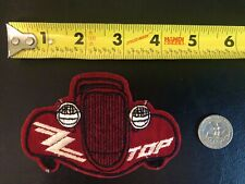 Zz Top Eliminator Patch Foyt Unser Earnhardt Jeff Gordon Tony Stewart Mfsl