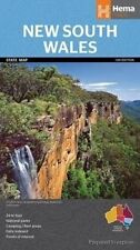 HEMA NEW SOUTH WALES STATE MAP 13TH EDITION - NATIONAL PARKS- CAMPING