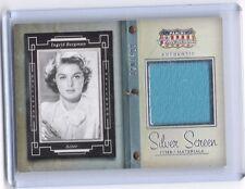 2015 Americana Silver Screen Ingrid Bergman worn wardrobe costume card #80/499