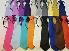 Pre-tied Elastic Neck Adjustable Tie Baby Toddler Kids Boys Girls Child