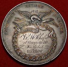 1858 St Louis Agricultural & Mechanical Association Award Medal AM-74 MO-50