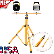 New listing Led Floor Light Tripod Stand For Camp Construction Site Work Lighting Outdoor Us