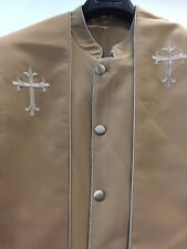 Clergy Robe Clergy wear Minister robe pastor robe cassock With Zipper
