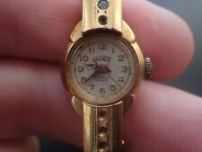 Vintage Ladies Tromex Mechanical 17 Jewels Bracelet Watch Working