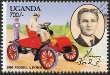 1903 FORD MODEL A and Henry Ford Car Automobile Stamp