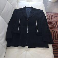 Compagnia delle Pelli men's Moto blue blazer size 54