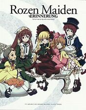 ROZEN MAIDEN GUIDE ART BOOK Rozen Maiden ERINNERUNG