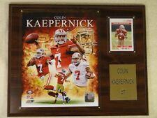 12 x 15 San Francisco 49ers #7 COLIN KAEPERNICK Wood Plaque w/ Photo & Card New