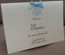 Envelope Wedding Bridesmaid Thank You Cards Personalised Ebay