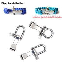 corde paracords survie o-shaped bracelet buckles paracord bracelets accessoires