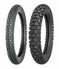 New Shinko 2.75-19 & 3.00-17 244 Series Tire Set For 82-01 Kawasaki KE100