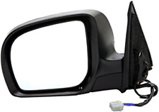 Fits 09-10  Forester Left Driver Mirror Pwr Unpainted With Heat No Signal